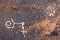 Native American Petroglyphs Owens Valley