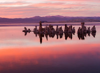 Mono Lake Sunset Blending Colors
