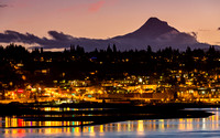 Hood River Nightscape Sand Bar