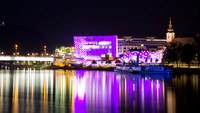 Linz Nightscape Reflections 1
