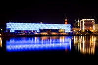 Linz Nightscape Reflections 2