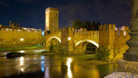 Verona Bridge Nightscape